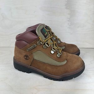 Timberland Mixed Media Boots Size 12.5 Toddler